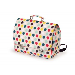 Cartera escolar Dots grande