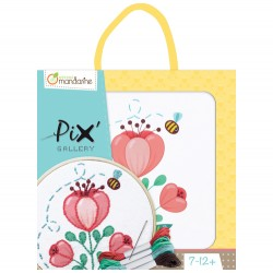 Pix Gallery Kit de bordado tulipán