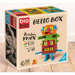 BioBlo 100 piezas Hello Box Rainbow Mix